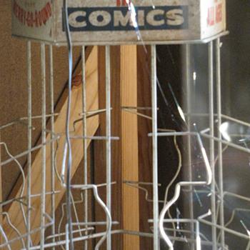 1940 Comic Book Racks - Advertising