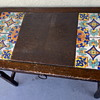 Angelus Furniture Co. Desk with Inlaid Hispano Moresque Tiles