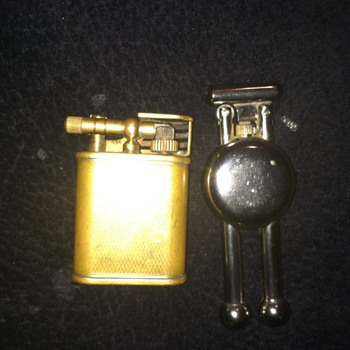 Can someone help me recognize these two lighters