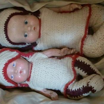 grandma's babies  - Dolls