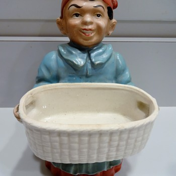 Maybe Black Americana Ceramic Figurine? - Advertising