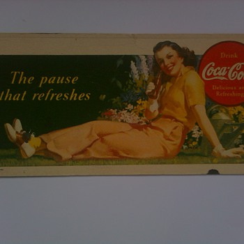 Various Coca Cola Blotters