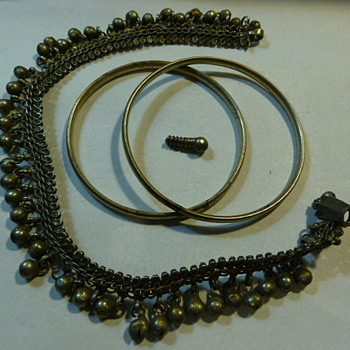 Dancer's silver jewelry - Costume Jewelry