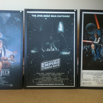 Star wars frames posters? - Movies