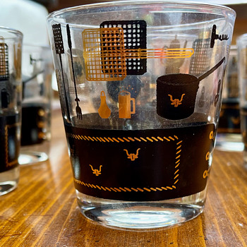 Vintage Bar Glassware set - Glassware