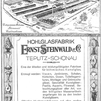 Ernst Steinwald - Art Glass