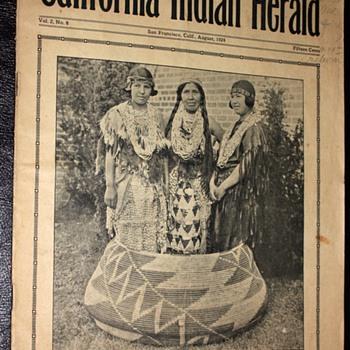California Indian Herald - August, 1924