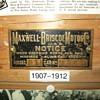 Maxwell brass tags