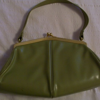 avocado green purse - Bags