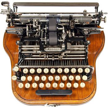Munson typewriter - 1890 - Office
