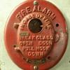 Autocall fire alarm box