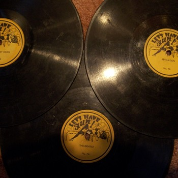Lets Have Fun 78 rpm adult records -?from the 30`s? - Records