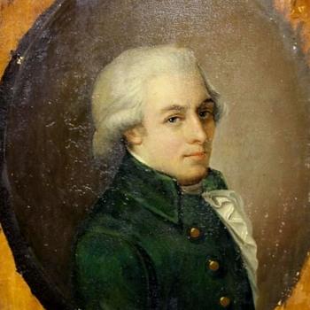 Wolfgang Amadeus Mozart ( Johann Heinrich Wilhelm Tischbein) Appel Family Connection - Fine Art