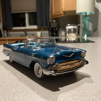 Danbury Mint 1957 Chevy Belair  - Model Cars