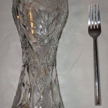 Depression Glass Vases - Glassware
