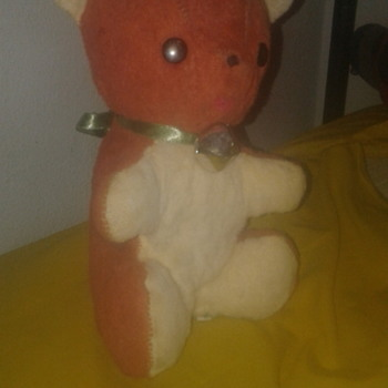 vintage gund teddybear - Dolls