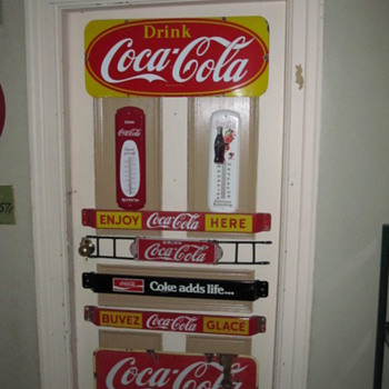 1928 Coca Cola Door Push - Coca-Cola