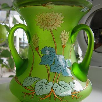 HECKERT VASE - Art Glass