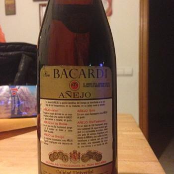 Antique Bacardi full bottle