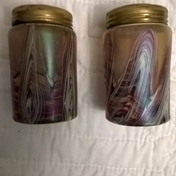 Kralik Salt & Pepper Shakers! - Art Glass