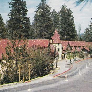 Lake Arrowhead Village Postcard 1955 - Photographs