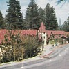 Lake Arrowhead Village Postcard 1955