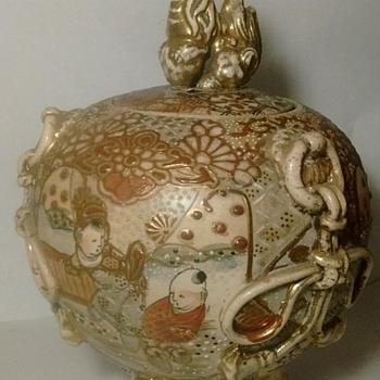 Meiji Period Temple Jar.... - Asian