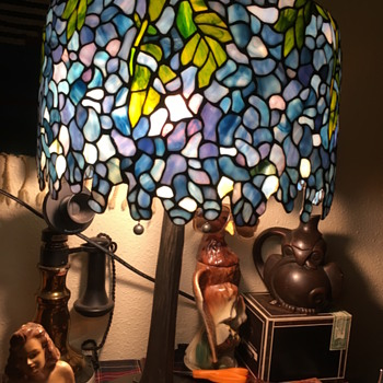 Paul Tiffany  - Lamps
