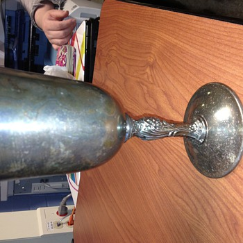 Goblet, no history known - Silver