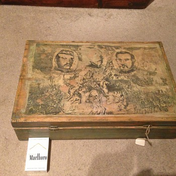 Unusual box, not sure what this is ?  - Military and Wartime