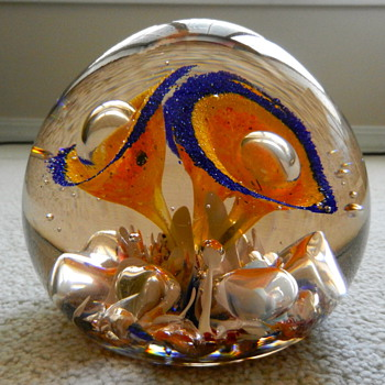 It's bigger than a paperweight - Art Glass