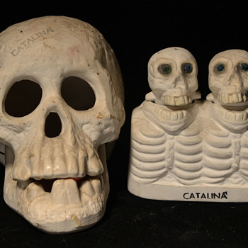 Catalina souvenir skulls - Advertising