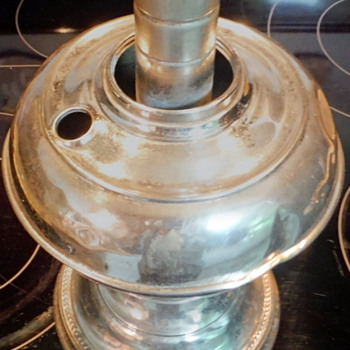 My 'Silver' Oil Lamp from Appalachia