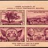 """1936 - """"Philatelic Exhibition"""" Souvenir Sheet (US)"""