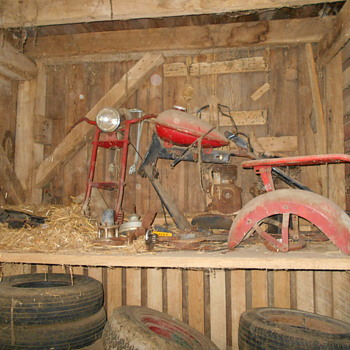A true barn find!#1 - Motorcycles