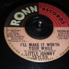 Little Johnny Taylor...On 45 RPM Vinyl