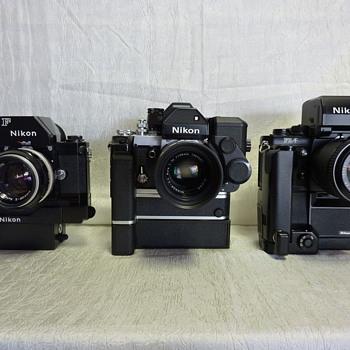 Nikon F, F2, F3AF - Cameras
