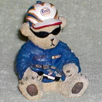 "NASCAR ""Rusty Wallace"" Racer Bear - Dolls"