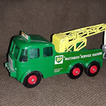 Mighty Mega Metal Matchbox K-12 Foden Breakdown Tractor 1963-1968.  - Model Cars