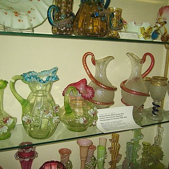 19th Century Bohemian Glass Especially Harrach With UK & USA Glass Misattributions - Art Glass