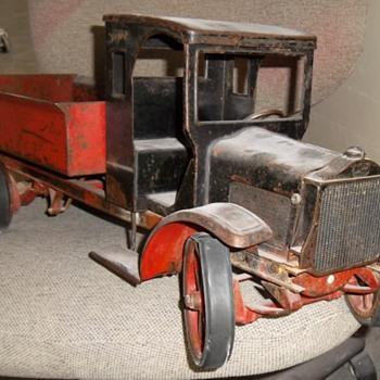 kelmet dump  truck restore - Toys