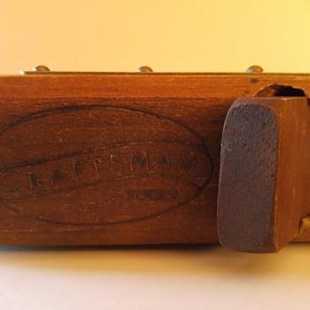 Vintage Craftsman wooden plane - Tools and Hardware