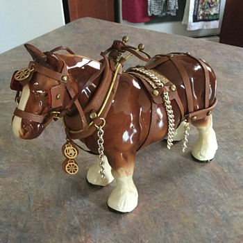 Grandfather's porcelain horse