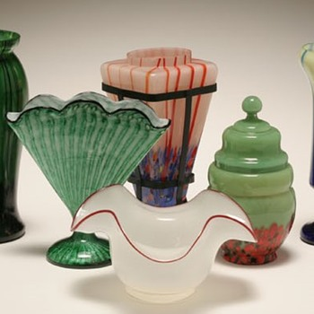 Controversial Art Glass Identifications, even the recent reference books don't agree, or the museums. - Art Glass