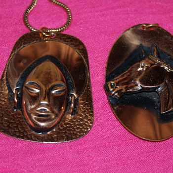 Copper Pendants - Costume Jewelry