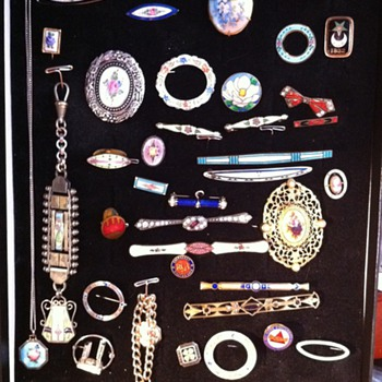 Part of my collection - Costume Jewelry