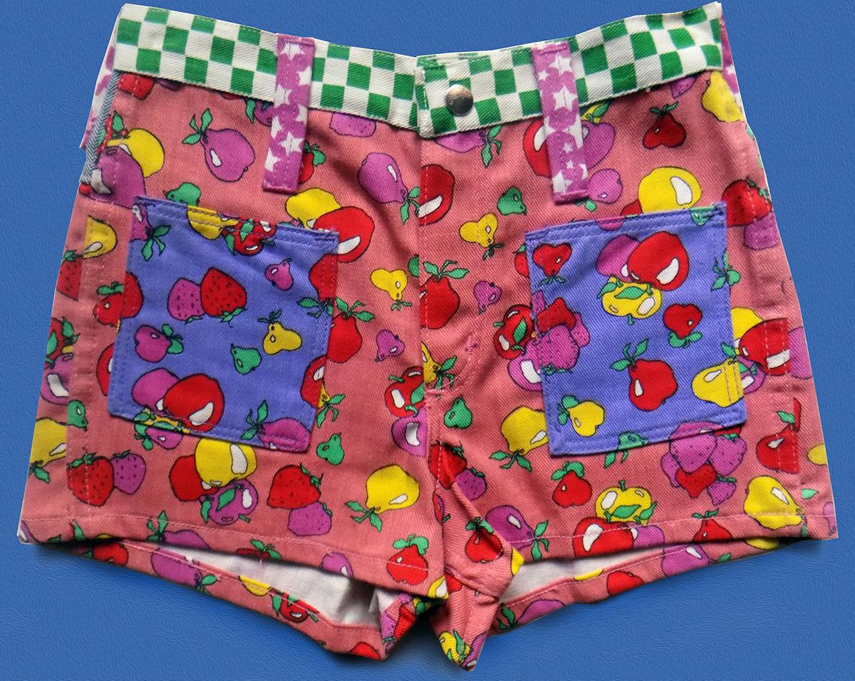 Hippie Shorts Mod Shorts 1960/'s Shorts Vintage Men/'s 1960/'s Peter Max Denim Shorts Vintage Shorts W30 Denim Shorts Vintage Clothing