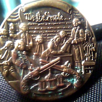Wearable Pin. WE THE PEOPLE - Medals Pins and Badges