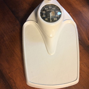 restored Health-O-Meter weight scale