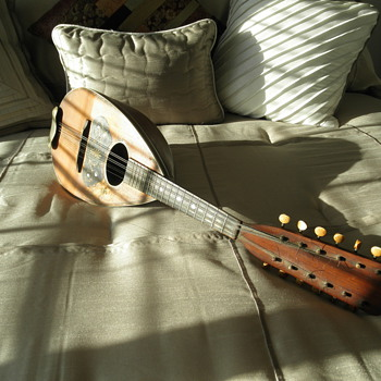 Rare Triple Mandolin